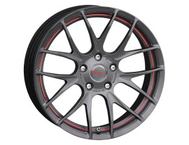 Breyton Race GTS-R Matt Gun Red Undercut Felge 18x7.5 5x120 ET45 PROMO