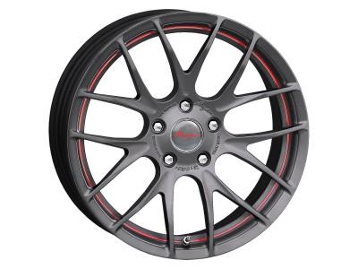 Breyton Race GTS-R Matt Gun Red Undercut Felge 18x8.5 5x120 ET48 PROMO