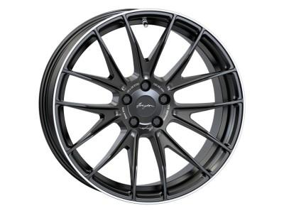 Breyton Race GTX Matt Black Polished Lip Wheel