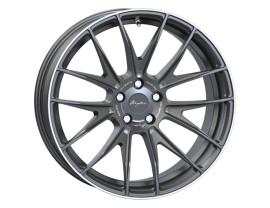 Breyton Race GTX Matt Gun Polished Lip Wheel