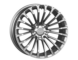 Breyton Race LS 2 Crystal Silver Wheel