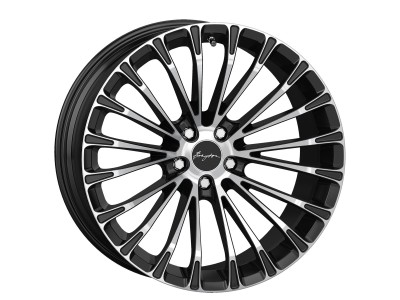 Breyton Race LS 2 Matt Black Polished Face Wheel 20x8.5 5x120 ET35 PROMO
