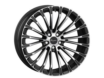 Breyton Race LS 2 Matt Black Polished Face Wheel