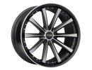 COR.SPEED Arrows Matt Black Polished Wheel
