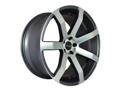 COR.SPEED Challenge Gun Metal Polished Wheel