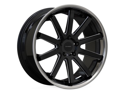 COR.SPEED Deville Mattblack Inox Wheel