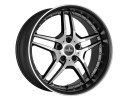 COR.SPEED Vegas Matt Black Polished Wheel