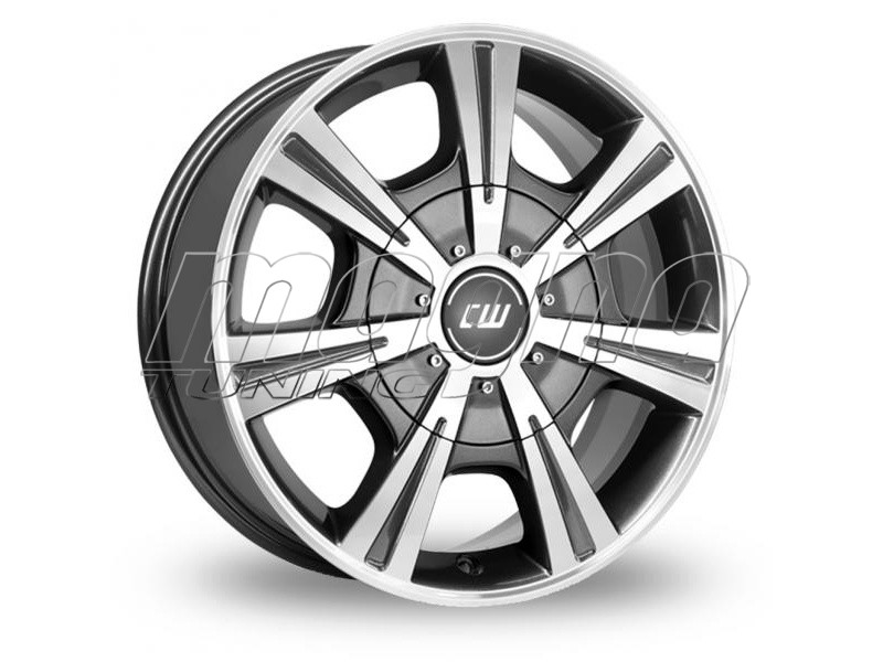 CW Off Road CH Anthracite Polished Felge