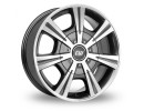 CW Off Road CH Anthracite Polished Wheel