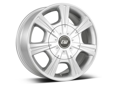 CW Off Road CH Crystal Silver Wheel