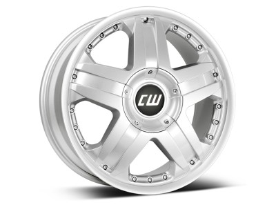 CW Off Road CWB Crystal Silver Wheel