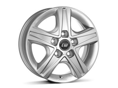 CW Off Road CWD Crystal Silver Wheel