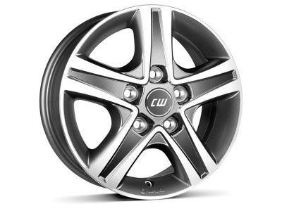 CW Off Road CWD Mistral Anthracite Wheel