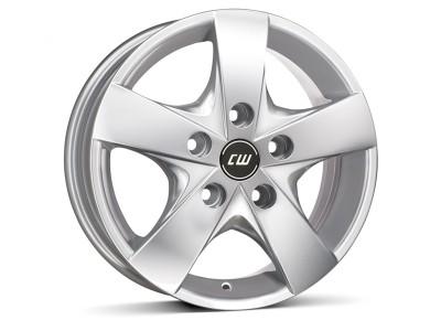 CW Off Road CWF Crystal Silver Wheel
