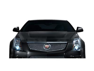 Cadillac CTS CTS-V-Look Carbon Fiber Hood