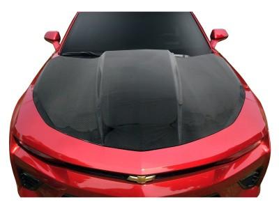 Chevrolet Camaro 6 Drag Carbon Motorhaube