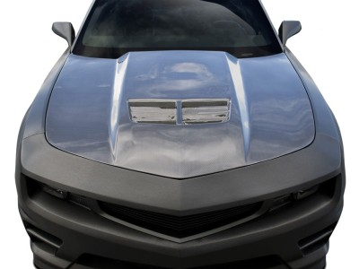 Chevrolet Camaro Stingray-Look Carbon Fiber Hood