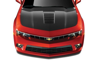 Chevrolet Camaro Z28-Look Carbon Fiber Hood