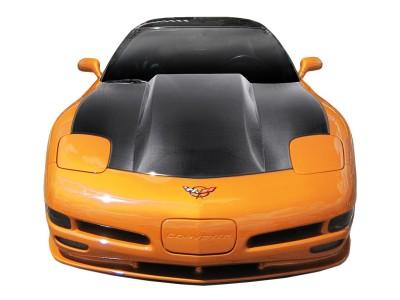 Chevrolet Corvette C5 Dragster Carbon Motorhaube