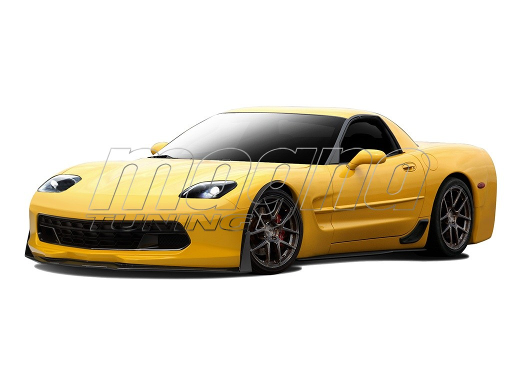 Chevrolet Corvette C5 Stingray Look Body Kit 2008 Scion Tc Light Wiring Diagram