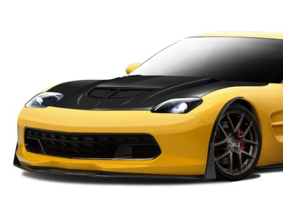Chevrolet Corvette C5 Stingray-Look Carbon Motorhaube