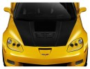 Chevrolet Corvette C6 Stingray-Look Carbon Fiber Hood