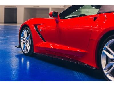 Chevrolet Corvette MX Seitenschwelleransatze