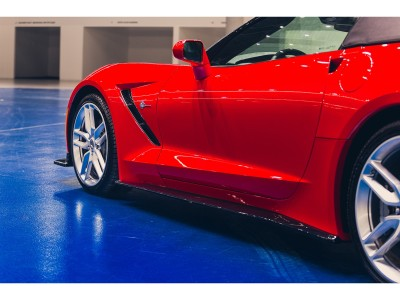 Chevrolet Corvette MX Side Skirt Extensions