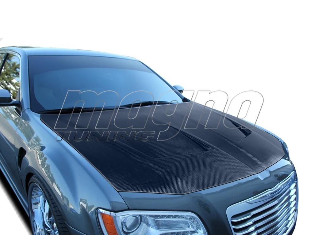 Chrysler 300C MK2 Evolva Carbon Motorhaube