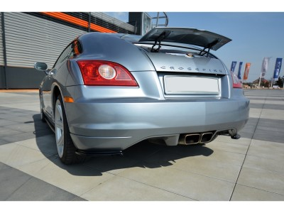 Chrysler Crossfire MX Rear Bumper Extensions