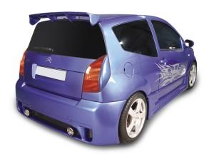 Citroen C2 Ibiza Heckstossstange