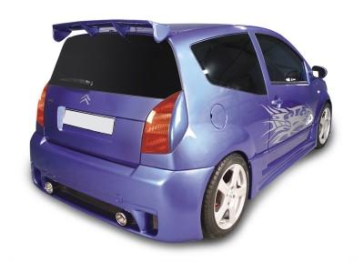 Citroen C2 Ibiza Rear Bumper