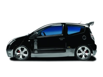 Citroen C2 VTS/VTR Devil Side Skirts