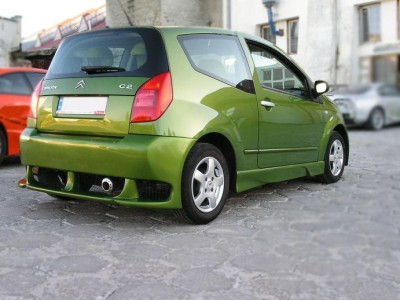 Citroen C2 Wasp Rear Bumper