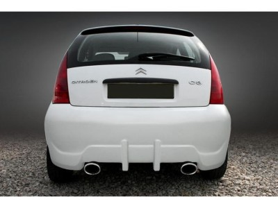 Citroen C3 Straight Rear Bumper