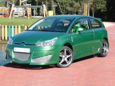 Citroen C4 Coupe Body Kit Warrior