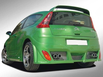 Citroen C4 Coupe Bull Rear Bumper