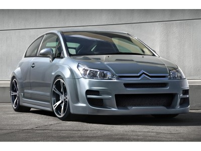 Citroen C4 Coupe Devil Front Wheel Arch Extensions