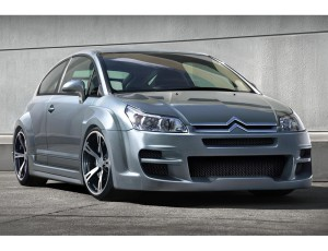Citroen C4 Coupe Devil Wide Body Kit
