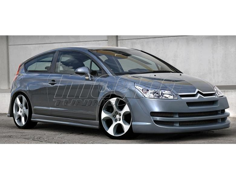 citroen c4 coupe xs front bumper. Black Bedroom Furniture Sets. Home Design Ideas