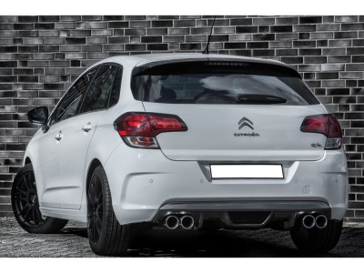 Citroen C4 MK2 Mystic Rear Bumper Extension