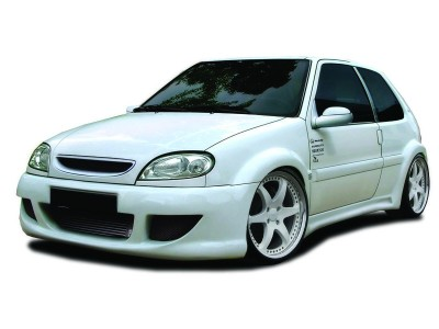 Citroen Saxo Fighter Front Wheel Arch Extensions