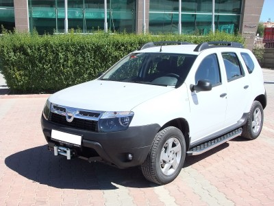 Dacia Duster Helios Running Boards