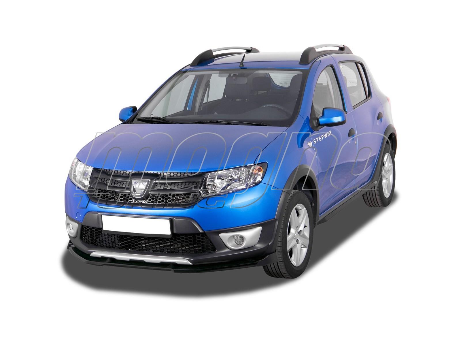Dacia Sandero 2 Stepway V2 Front Bumper Extension