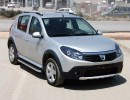 Dacia Sandero Helios Running Boards