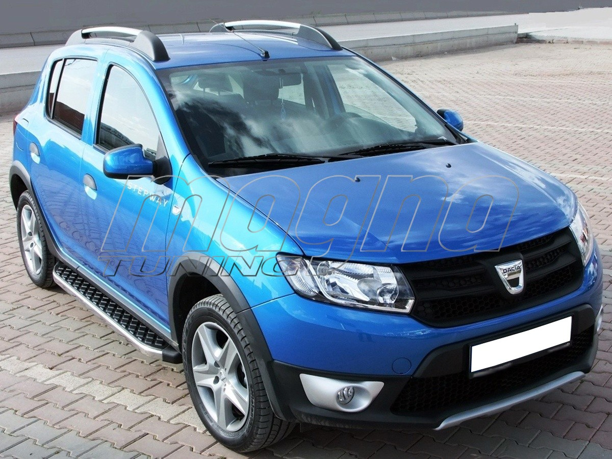 dacia sandero stepway h2 running boards. Black Bedroom Furniture Sets. Home Design Ideas