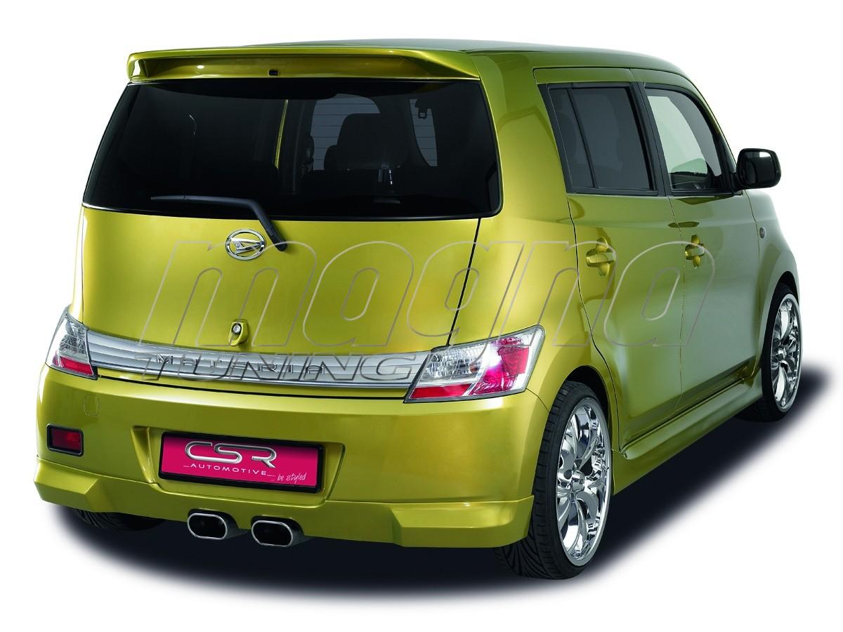 Daihatsu Materia XL-Line Heckansatz