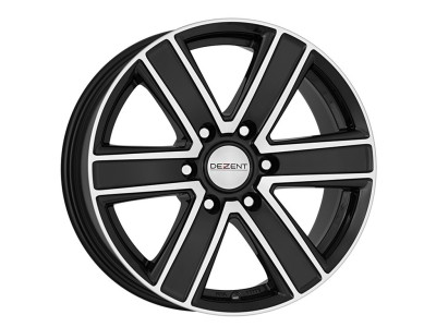 Dezent TJ Dark Wheel