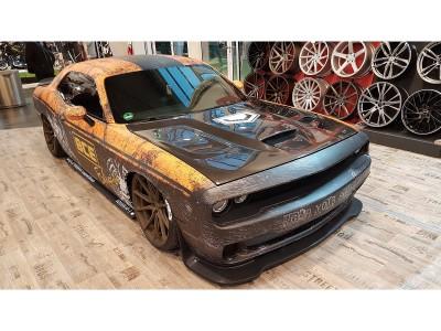 Dodge Challenger Capota Hellcat-Look Fibra De Carbon