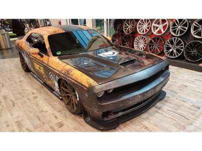 Dodge Challenger Hellcat-Look Carbon Motorhaube